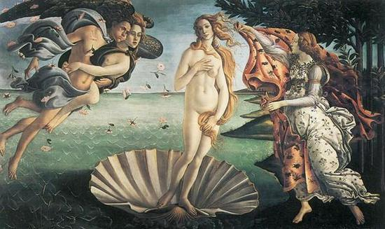 Sandro Botticelli, Birth Of Venus, 1484-1486