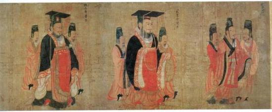 《历代帝王图》,阎立本