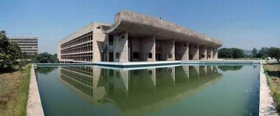 印度昌迪加尔,1955年,城市规划