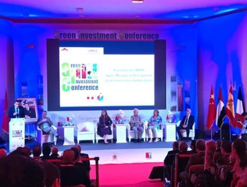 摩洛哥坦坦绿色投资论坛现场