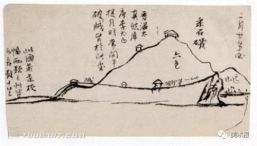 齐白石 《寄园日记》手稿