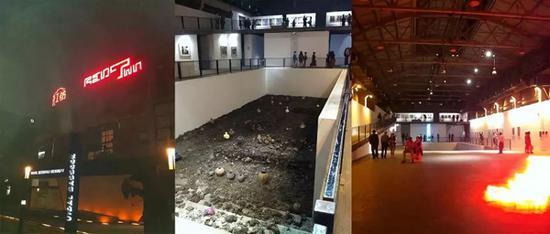 """在红坊举办的""""上海画廊联盟""""展"""