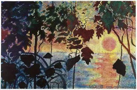 西格玛尔・波尔克《丛林》,1967年
