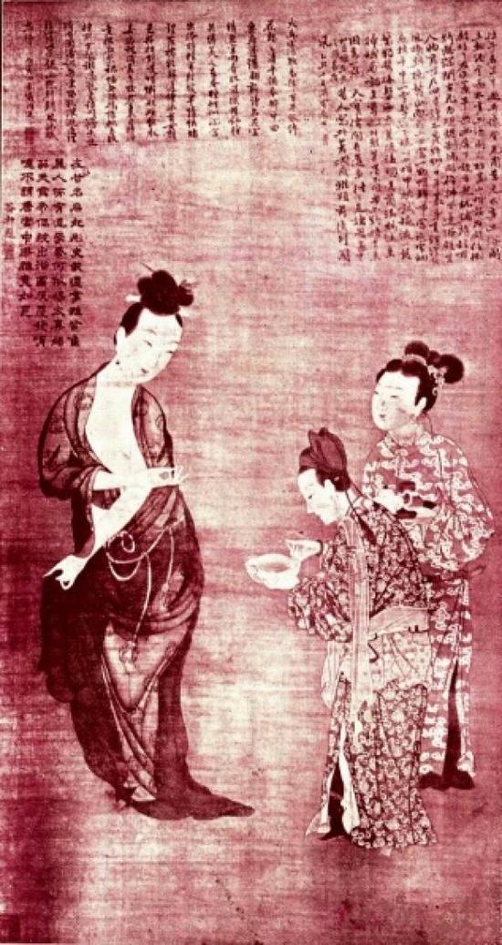 《仇十洲杨妃出浴图》,《小说时报》第三号,1910年。