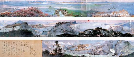 (王中军收藏:吴冠中的《长江万里图》)