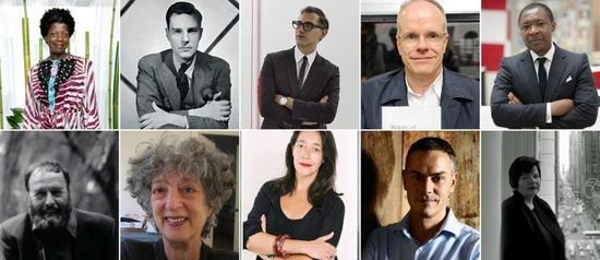 包括Thelma Golden、Harald Szeemann、Marcia Tucker等人在内的顶尖策展人们