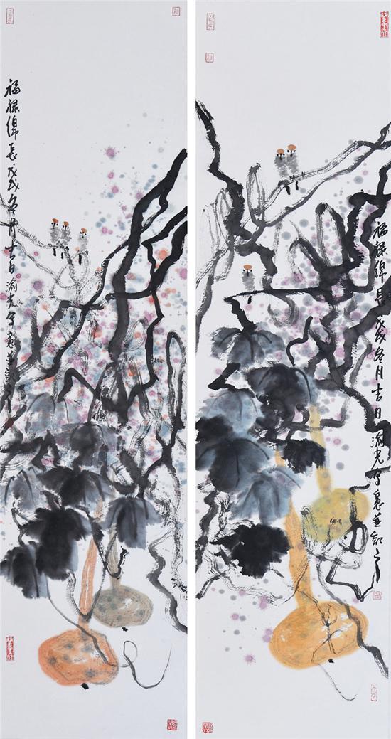 《福禄绵长图)》136×34m