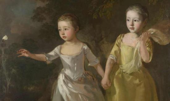 看18世纪女权主义之父庚斯博罗的家庭画像