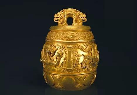 真土豪乾隆铸造的金编钟 清 故宫博物院藏