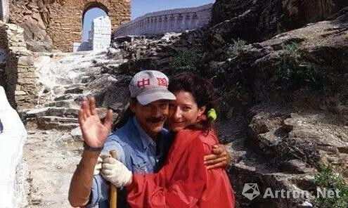 阿布拉莫维奇和乌雷1988年的行为《情人·长城》
