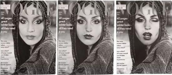 封面女郎(Vogue),1975/2011,辛迪·舍曼