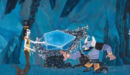 《葫芦兄弟》动画截图
