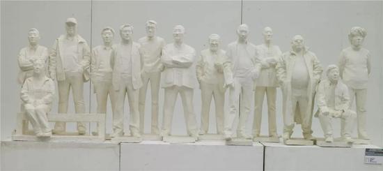 """2009年""""曾竹韶奖""""获奖作品《我的老师们》 谭建明 清华大学美术学院"""