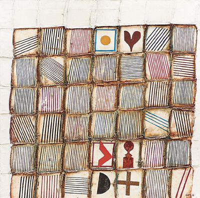 纵横交错的图片(布面油画) 保尔特·约瑟夫