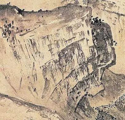 南宋 / 夏圭 /《溪山清远图》局部