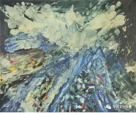 自由的激情 120cm× 90cm(布面油画)