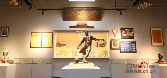 中国足球文化收藏专题展北京通州宋庄艺术区举办