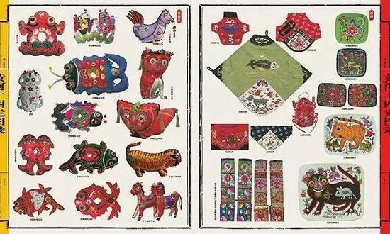 庆阳民间艺术:耳枕、布虎、肚兜