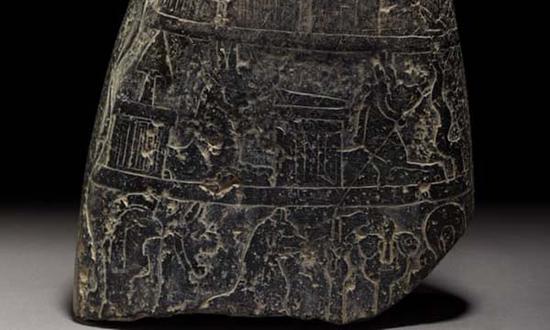 古巴比伦石碑回归伊拉克