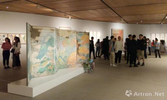 2018中央美院中国画学院研究生毕业作品展现场