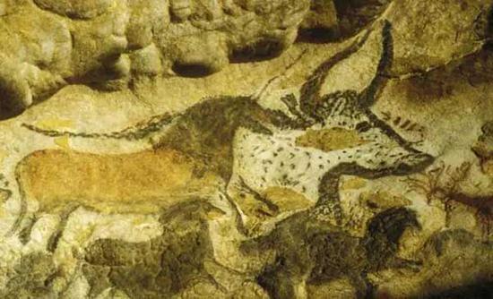▲法国拉斯科洞窟壁画