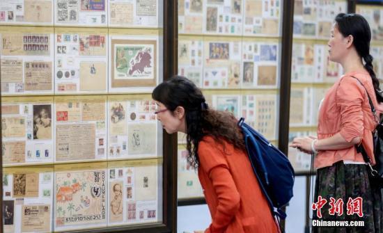 6月11日,中国2019世界集邮展览在武汉开幕。中新社记者 张畅 摄