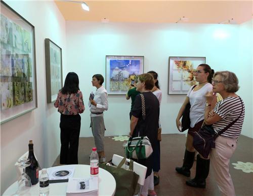 傅文俊数绘摄影作品亮相2018年影像上海艺术博览会