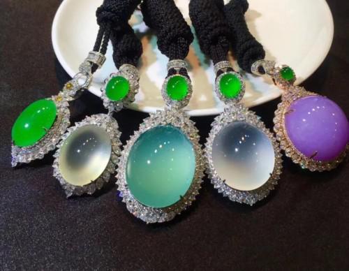 中國四會玉器博覽城亮相上海珠寶首飾展
