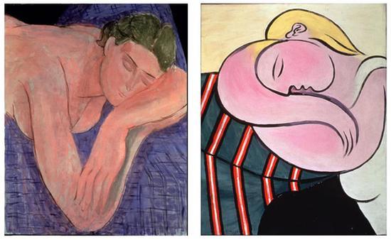 马蒂斯与毕加索的作品