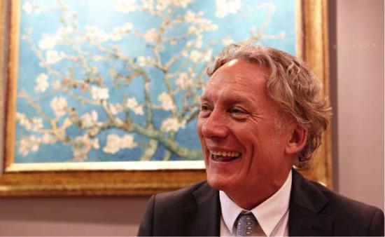 梵高侄子的孙子,另一个文森特·威廉·梵高 (Vincent Willem van Gogh)