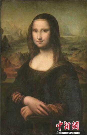 卢浮宫所藏《蒙娜丽莎》同时期的佳作《蒙娜丽莎的微笑》。 泓艺九洲 摄