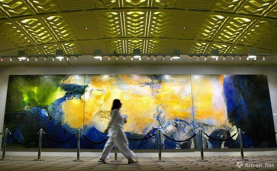 2005年,《1985年6月至10月》在香港佳士得預展現場