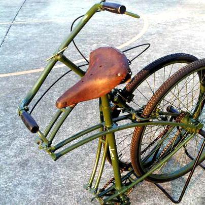 收藏1300多辆各国古董级珍品的甘肃自行车博物馆