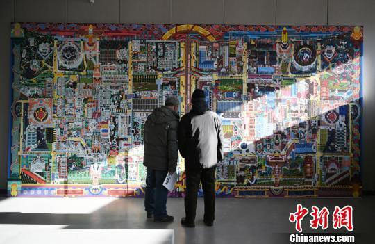 繪造社作品《淘寶城·半畝城》 張瑤 攝