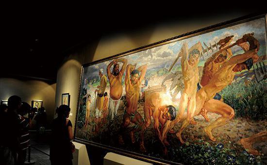 文化收益与物质收获的碰撞:现代艺术收藏