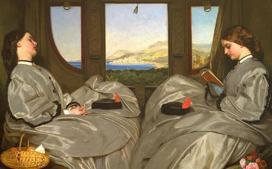 火车年代中的艺术