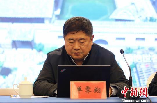 单霁翔以中国文物学会会长的身份,现身中国文物大省山西。 乔宇 摄