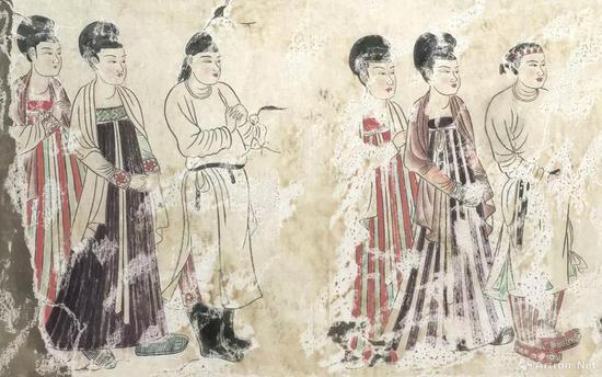 敦煌唐代中期壁画