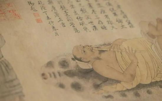 """故宮""""林下風雅"""":唐宋名跡里的陸曜趙佶李公麟"""