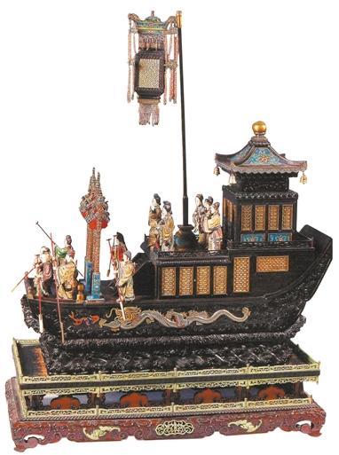 木雕楼船 广州博物馆藏