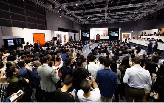香港苏富比:继续引领现当代艺术大旗?