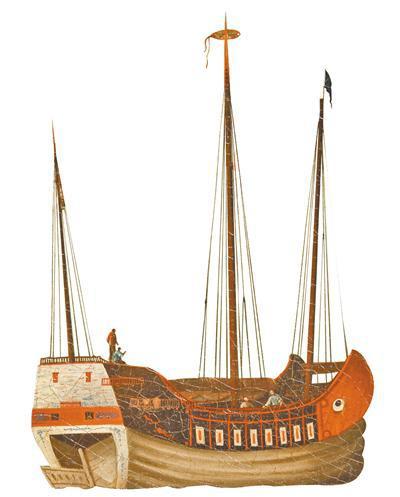 """红头船又称""""大眼鸡""""""""鸡目船""""。"""
