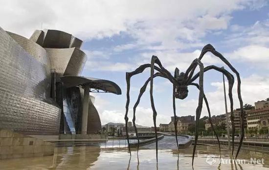 ▲西班牙毕尔巴鄂古根海姆博物馆