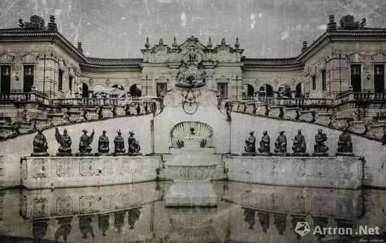 圆明园海晏堂老照片