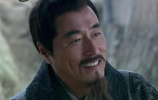 """国产电视剧《楚汉传奇》(2012)剧中人物""""萧何""""。"""