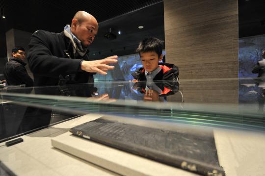 孔子博物馆11月26日在孔子故里曲阜正式开馆试运行