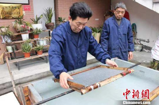 不能忘本  守护千年竹纸