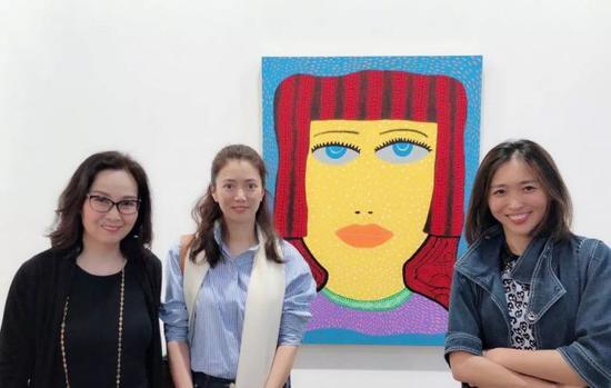 袁咏仪现身2018Art Basel展览现场