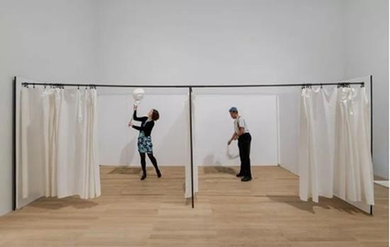 展览现场,伦敦泰特美术馆