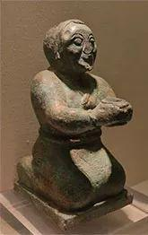 战国 青铜俑